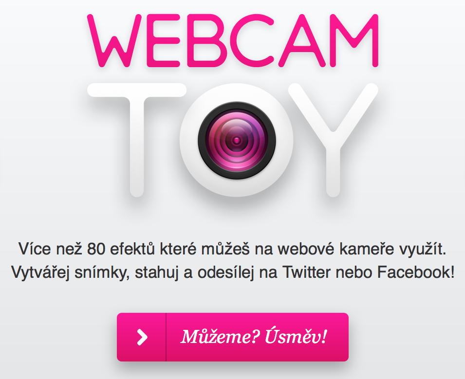 Úvodní stránka Webcam toys